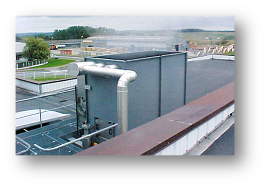 Air cooling towers picture