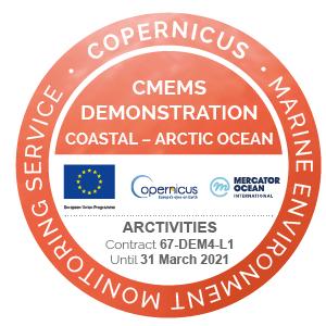 Copernicus ARCTIVITIES DEM4 badge